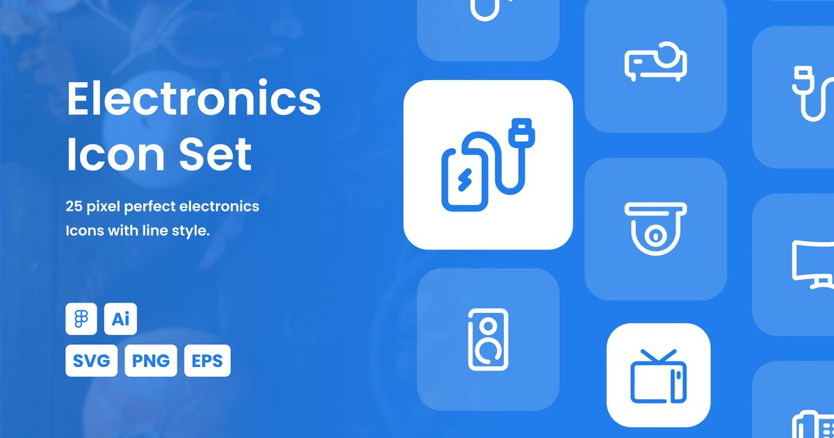 Download Electronic Dashed Line Icon Set by mhudaaa