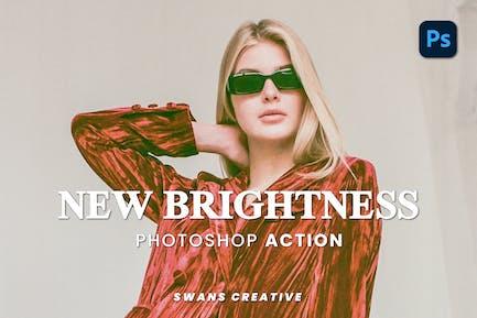 New Brightness Photoshop Action
