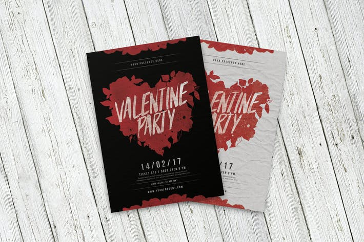 Thumbnail for Valentinstag Party Flyer