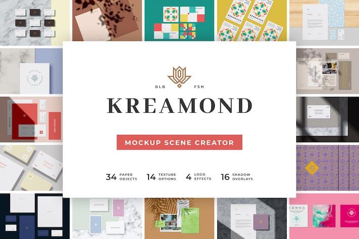 Thumbnail for Kreamond - Mockup Scene Creator