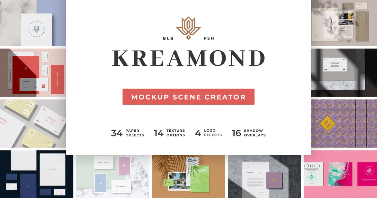 Download Kreamond - Mockup Scene Creator by bulbfish