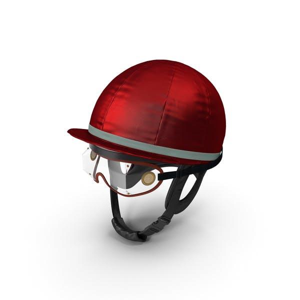 Jockeys Racing Helmet With Goggles