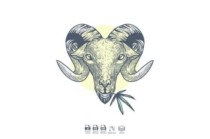 Thumbnail for Marihuana-Ziege
