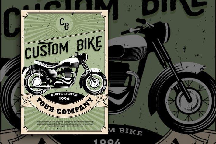 Thumbnail for custom bike Flyer