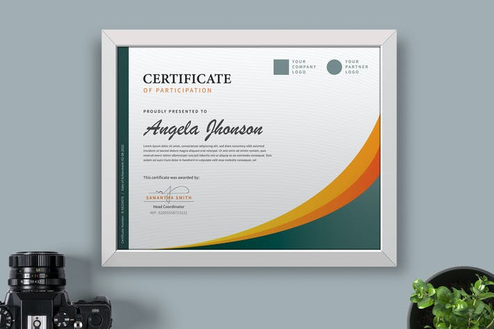 Thumbnail for Сертификат/Шаблон н диплома Pro