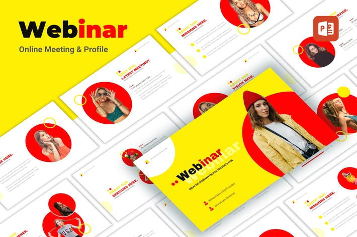 Thumbnail for Webinar - Creative PowerPoint Template