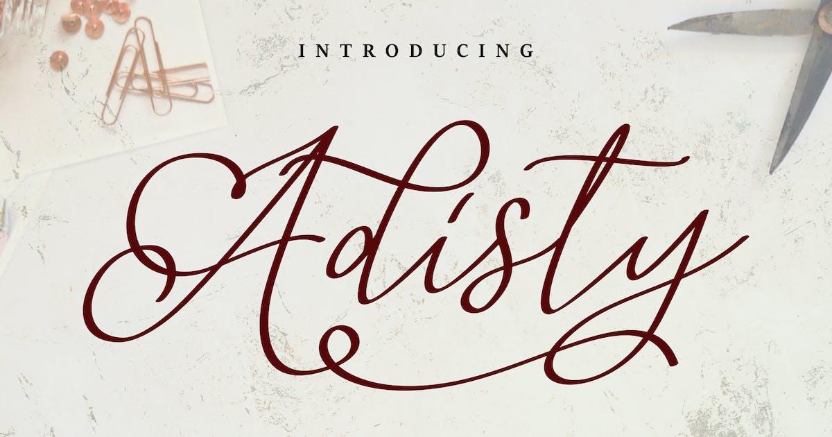 Download Adisty | A Beauty Script Font by Vunira