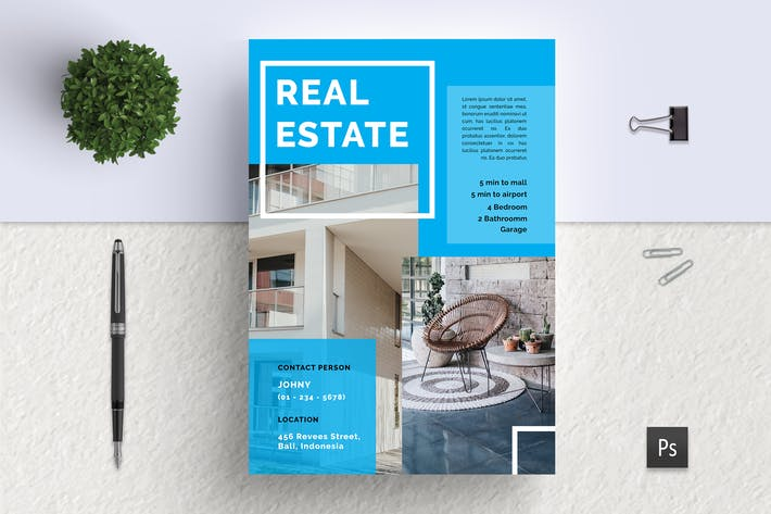 Thumbnail for Kledung Professional Real Estate Flyer