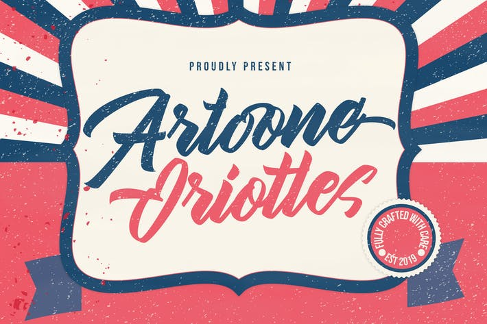 Thumbnail for Artoone Oriottes Typeface