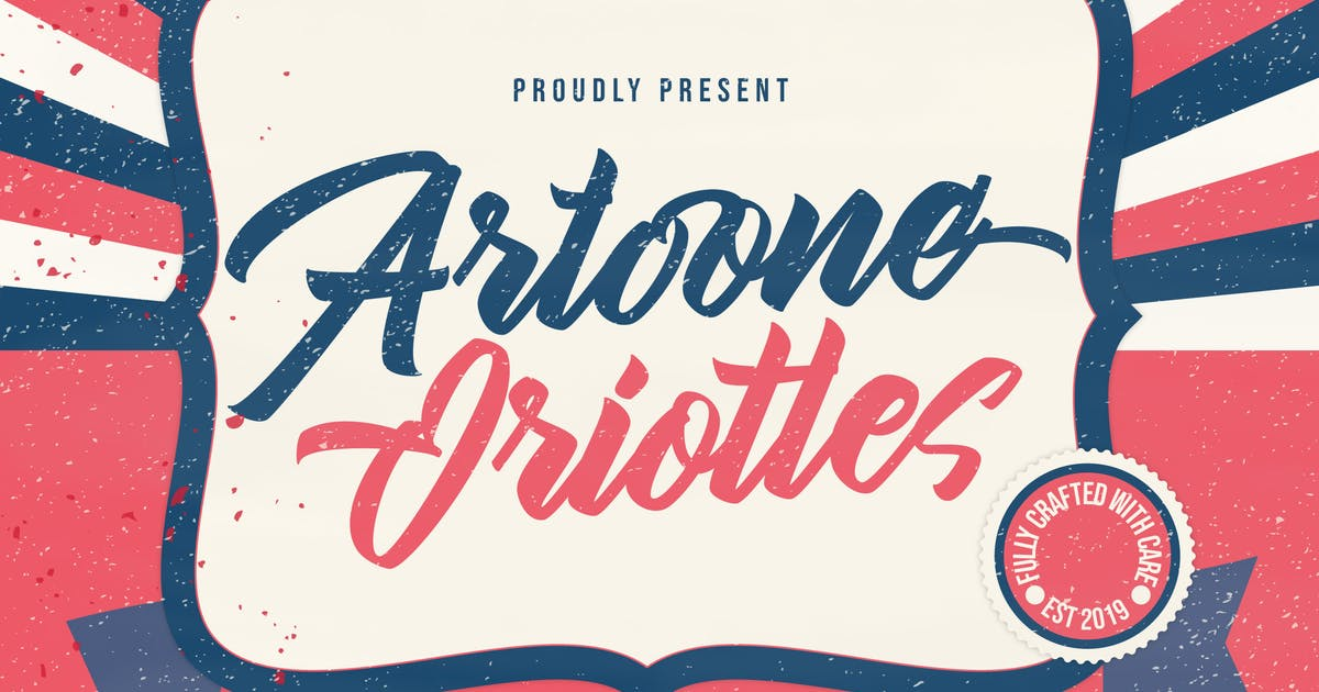 Download Artoone Oriottes Typeface by IanMikraz