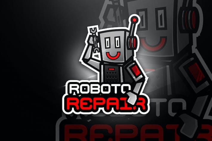 Thumbnail for Robot Repair - Mascot & Esport Logo