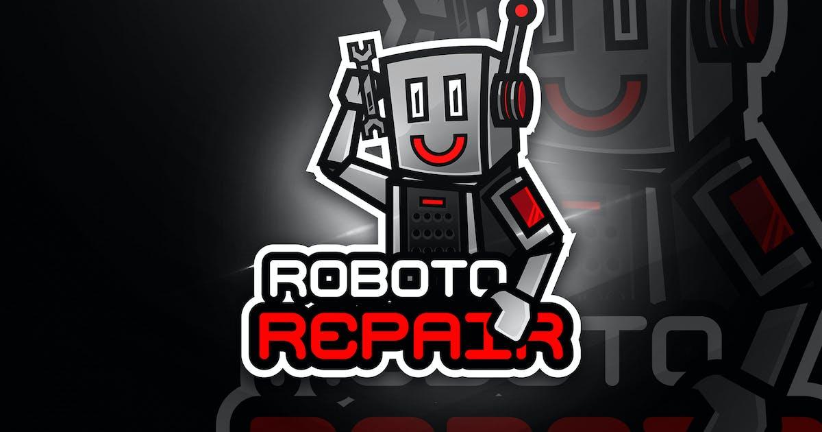 Download Robot Repair - Mascot & Esport Logo by aqrstudio