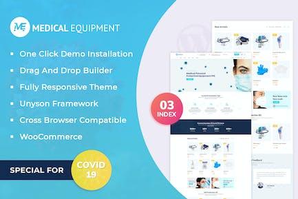 Medical Equipment - eCommerce WordPress Theme
