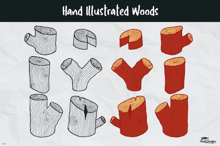 Thumbnail for Hand illustrated Woods