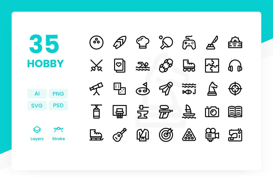 Hobby - Icons Pack