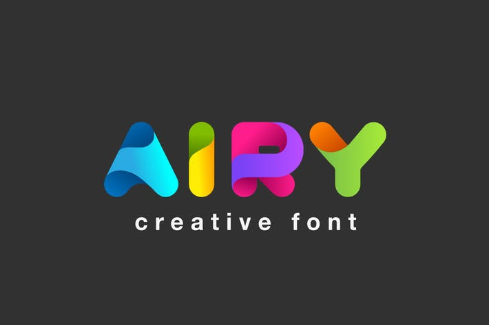 Thumbnail for Airy Font