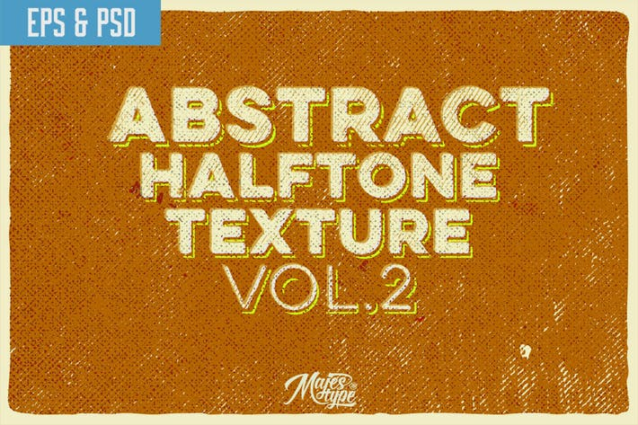 Thumbnail for 10 Abstract Halftone Texture Vol.2