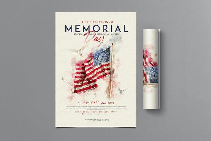 Thumbnail for Memorial Day Flyer