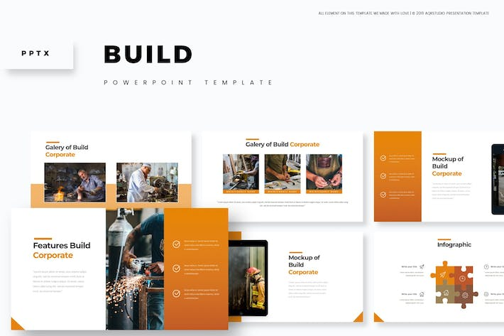 Thumbnail for Builds - Powerpoint Template