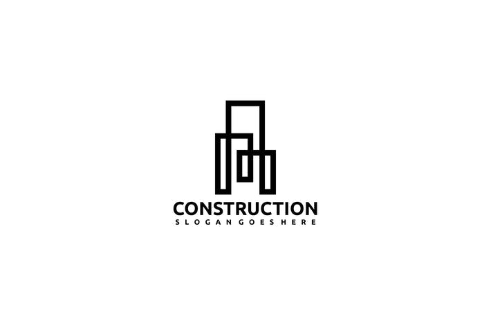 Thumbnail for Constructions- Real Estate Logo