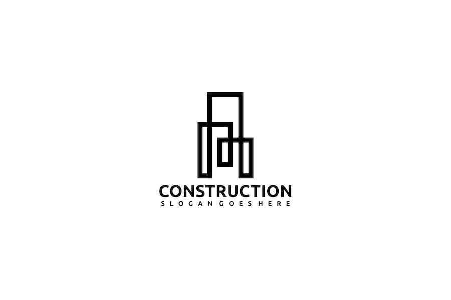 Constructions- Real Estate Logo