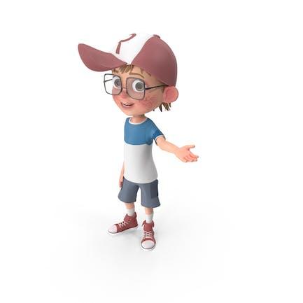 Cartoon Boy Vitrine