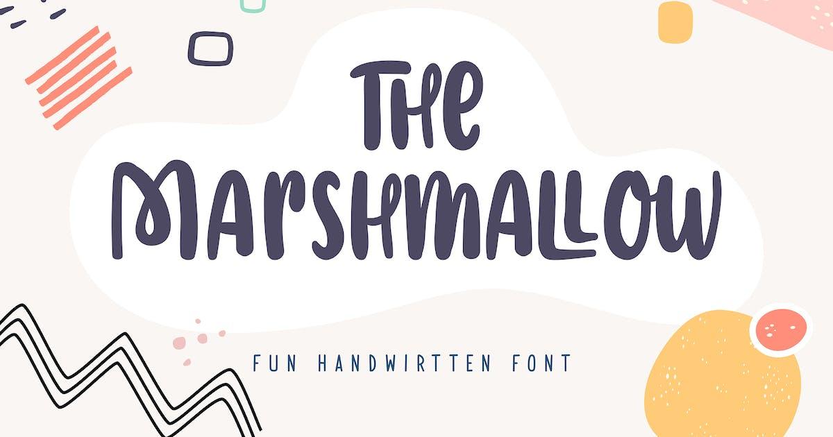 Download The Marshmallow | Fun Handwritten Font by Vunira