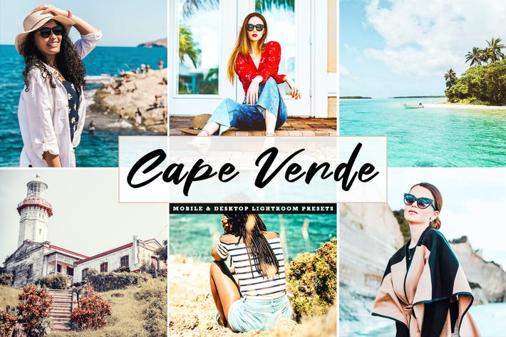 Thumbnail for Cape Verde Mobile & Desktop Lightroom Presets