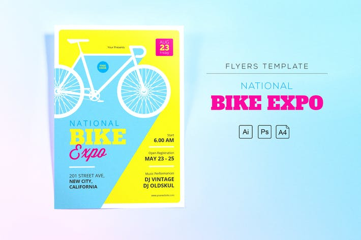 Thumbnail for National Bike Expo Flyers