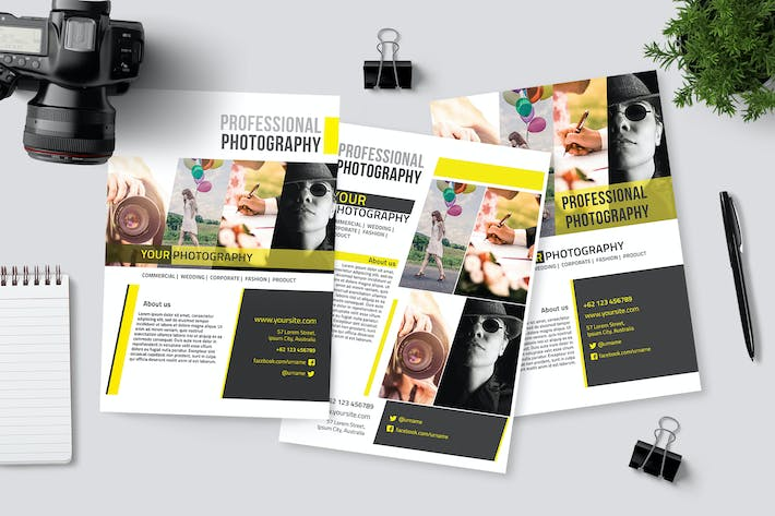 Thumbnail for 3 Photography Flyers