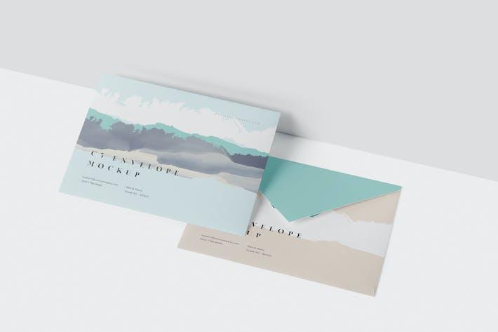Thumbnail for Envelope C5 Mock-Up Set