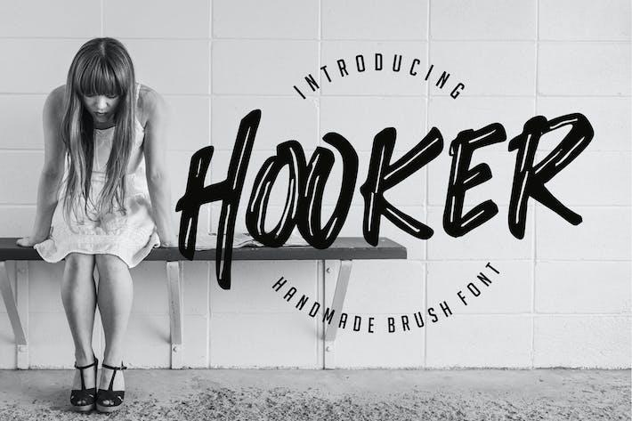 Thumbnail for Hooker - Handmade Brush Font