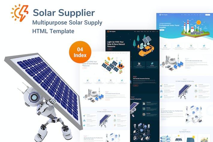 Thumbnail for Solar Supplier - Responsive HTML Template