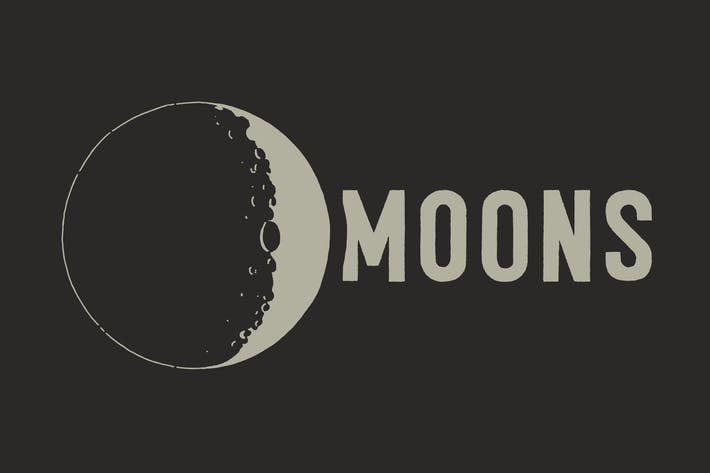 Thumbnail for Lunar Moons From Space