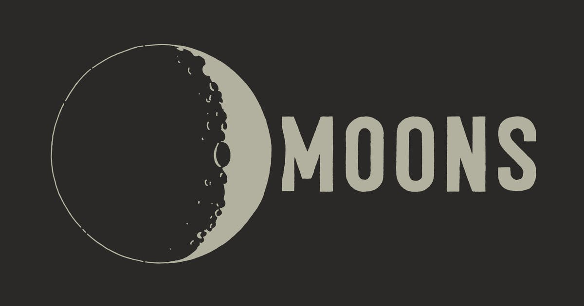 Download Lunar Moons From Space by ghostlypixels