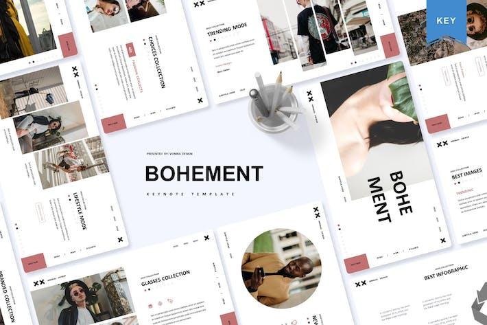 Thumbnail for Bohement | Шаблон Keynote