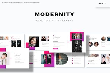Modernität - Powerpoint-Vorlage