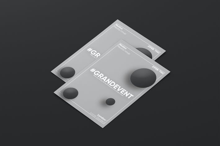 Thumbnail for Minimal Abstract Flyer Template