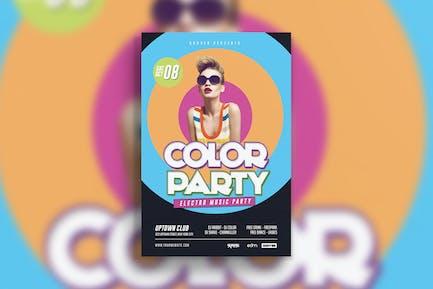 Electro Dj Color Party