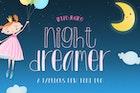 Night Dreamer Font Duo