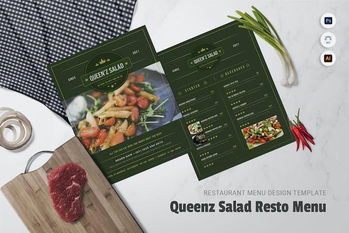 Thumbnail for Queen'z Salad Restaurant Menu