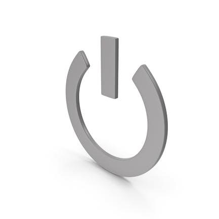 Power Icon Grey