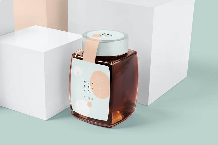 Honey Jar Mockups