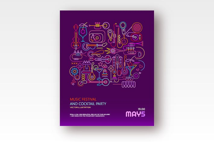 Cover Image For Music Festival and Cocktail Party (4 options)