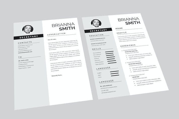 Thumbnail for Cover Letter Resume Designer