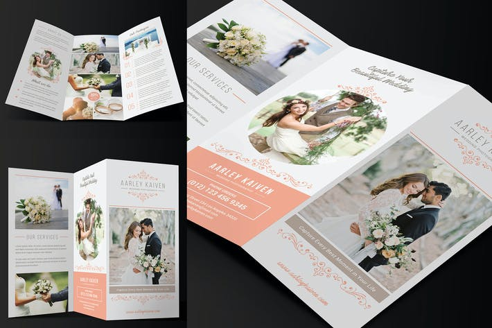 Thumbnail for Wedding Photography Trifold