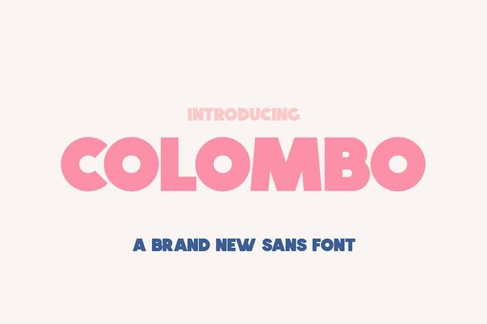 Thumbnail for Colombo Sans Font