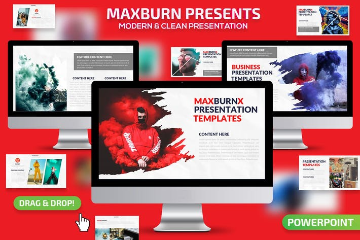 Thumbnail for Maxburn Powerpoint Presentation