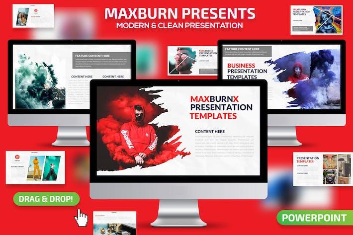 Maxburn Powerpoint Presentation
