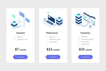 Pricing Table Vol.4